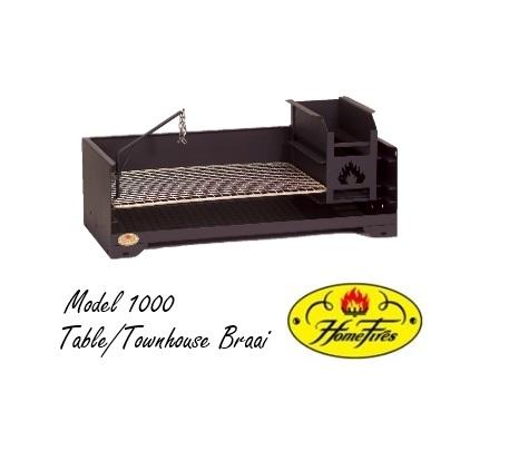 Model 1000 Table/Townhouse Braai