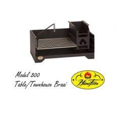Model 800 Table/Townhouse Braai